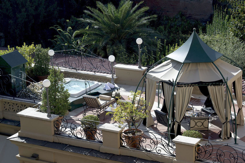 Via Veneto Suite - Terrace, Gazebo and Whirlpool