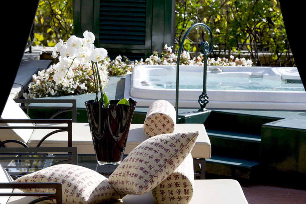Via Veneto Suite - Terrace and Whirlpool