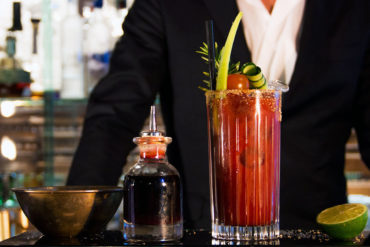 Bloody Mary at Hotel Majestic Roma