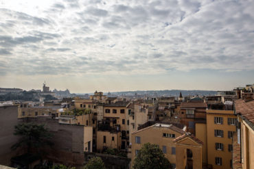 View from St.Isidoro Suite - Hotel Majestic Roma