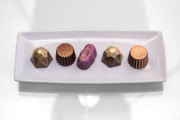 Cioccolatini fatti in casa.