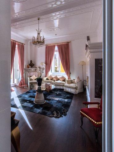Dettaglio della Suite Via Veneto - Hotel Majestic Roma