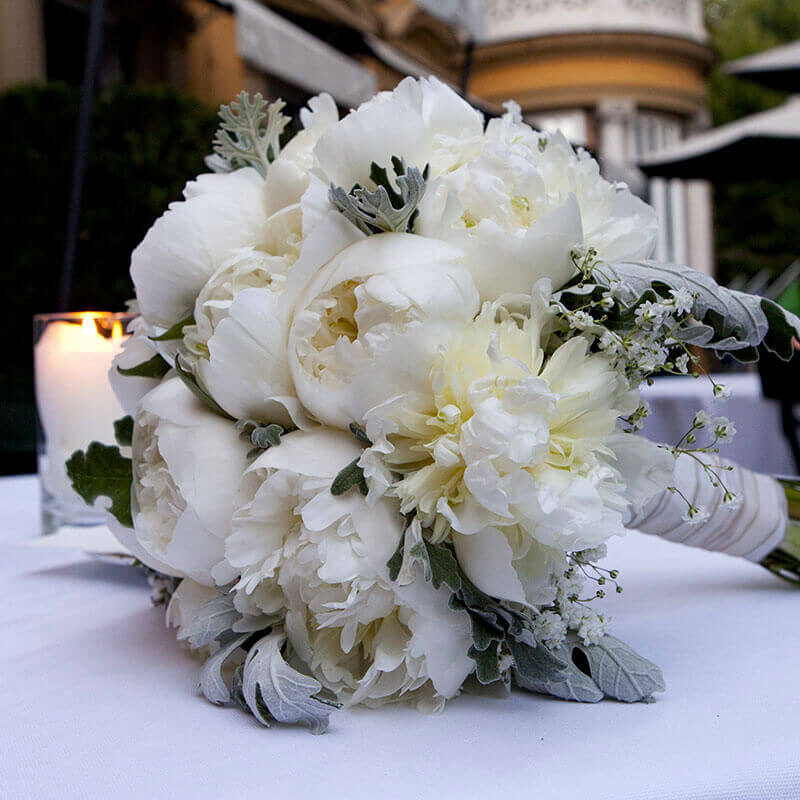 Wedding Bouquet at Hotel Majestic Roma