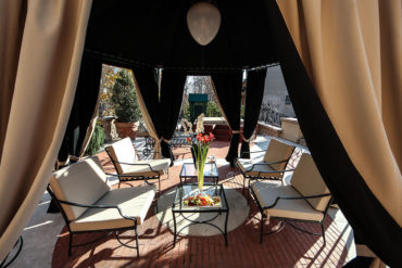 Via Veneto Suite - Terrace and Gazebo
