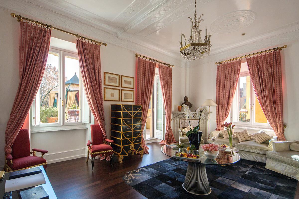 Hotel Majestic Roma - Via Veneto Suite