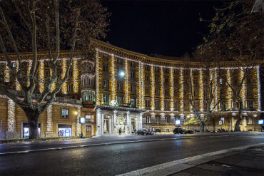 Hotel Majestic Roma - Nocturne View