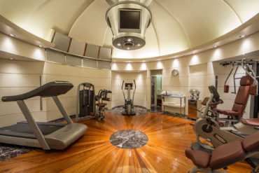 Gym at Hotel Majestic Roma