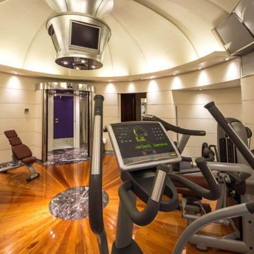 The Gym at Hotel Majestic Roma