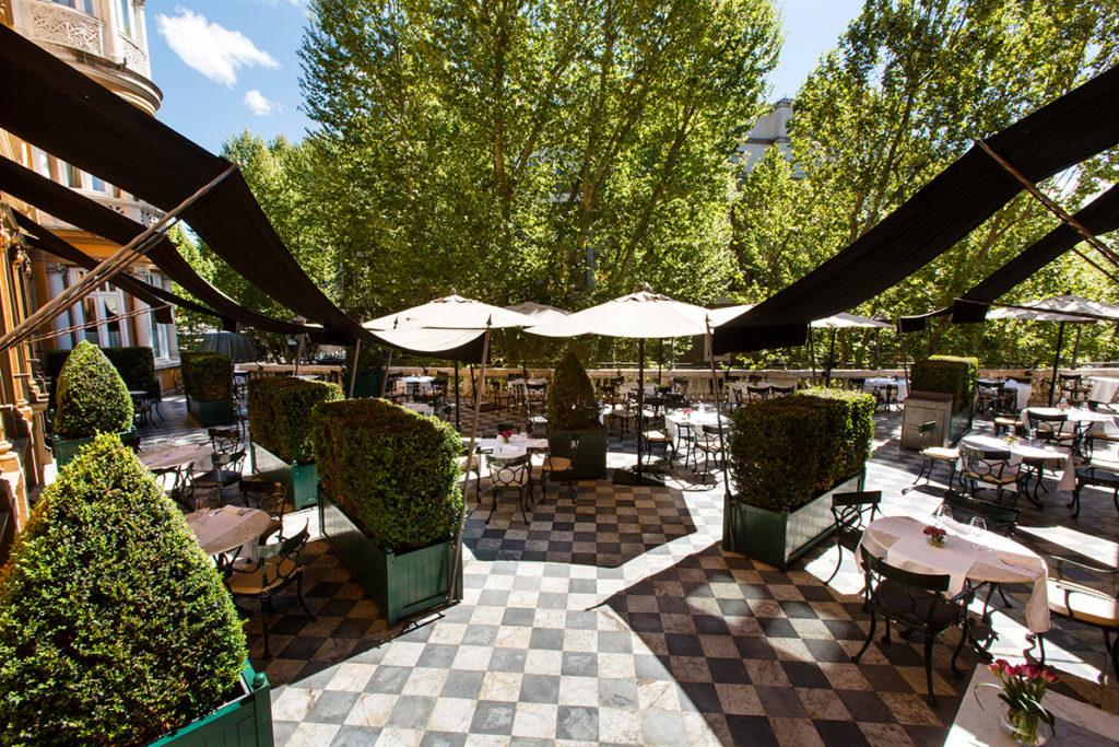 Hotel Majestic Roma - The Terrace