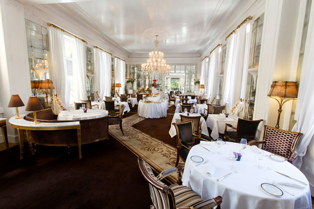 Hotel Majestic Roma - Restaurant Hall