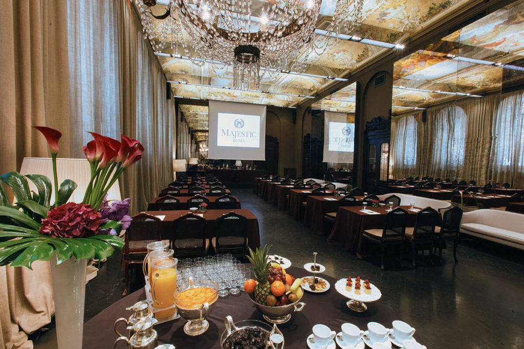 Function Rooms Hotel Majestic Roma