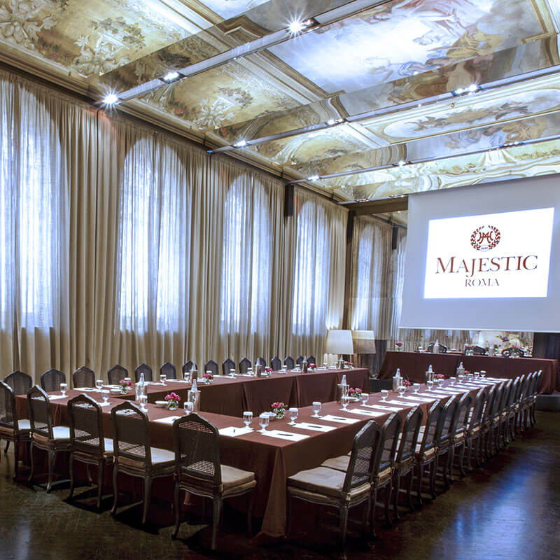 Conference at Hotel Majestic Roma