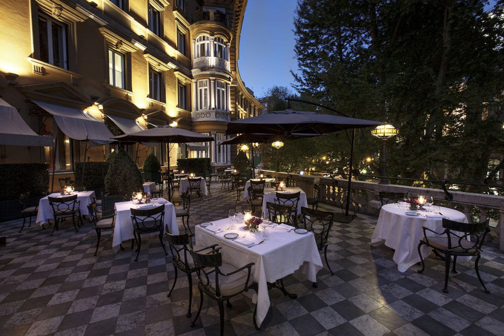 Hotel Majestic Roma - The Terrace