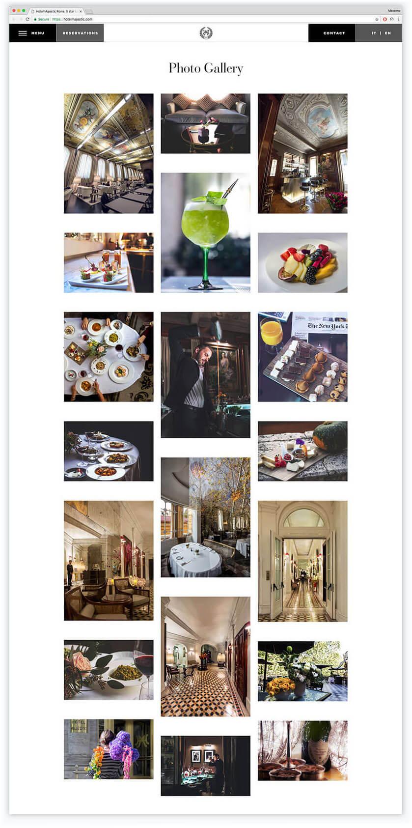 Hotel Majestic Roma Photo Gallery