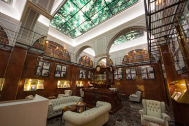 Sala degli Orologi at Hotel Majestic Roma
