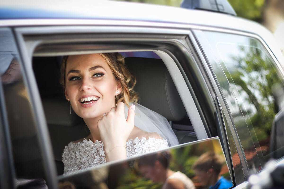 Wedding by Limousine