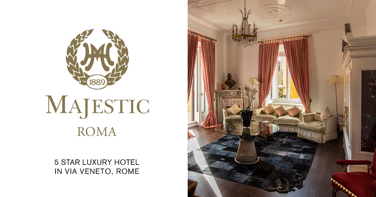5 Star Luxury Hotel Hotel Majestic Roma