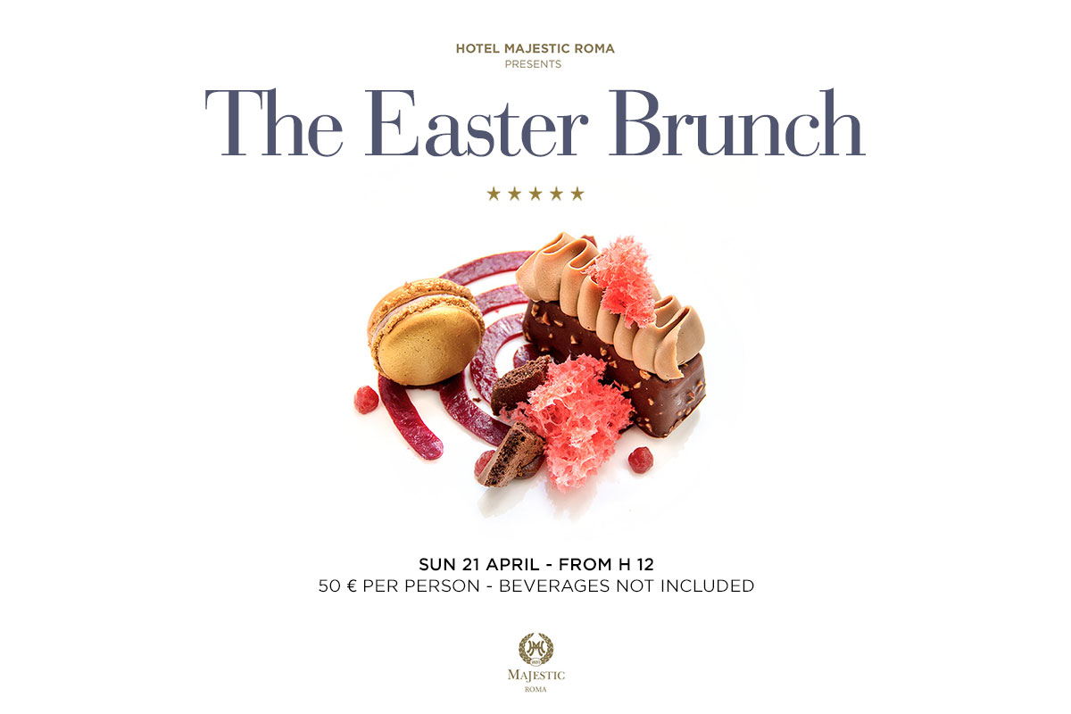 The Easter Brunch Hotel Majestic Roma