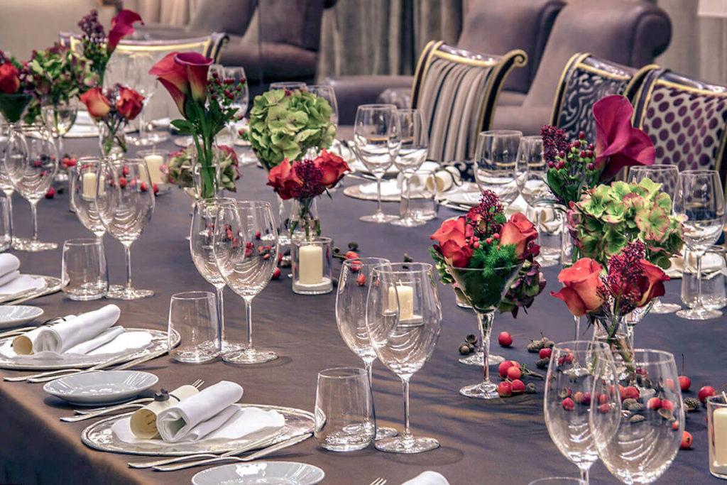 Composizione Floreale per Tavolo Imperiale