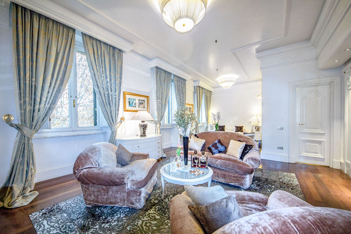 Junior Suite - Hotel Majestic Roma